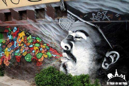 Arte urbano en Valparaíso, Chile