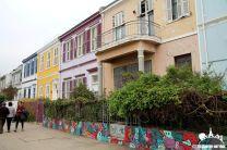Casas de chapas de Valparaíso