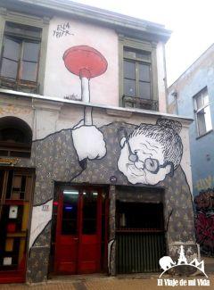 Graffitis de Valparaíso