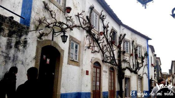 Las casas blancas de Óbidos