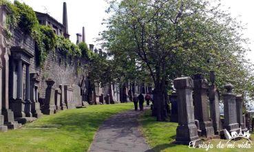 El cementerio victoriano de Glasgow