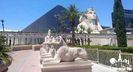 El hotel-casino Luxor