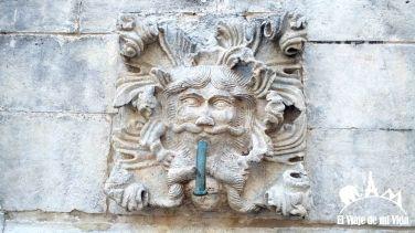 Detalles de las calles de Dubrovnik