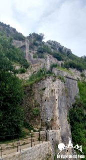 Las murallas de Kotor