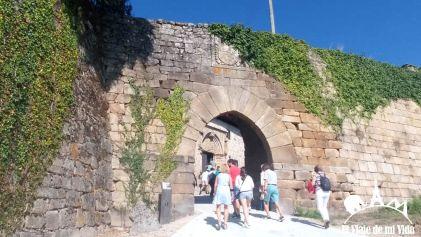 Entrada al Castillo de Monterrei