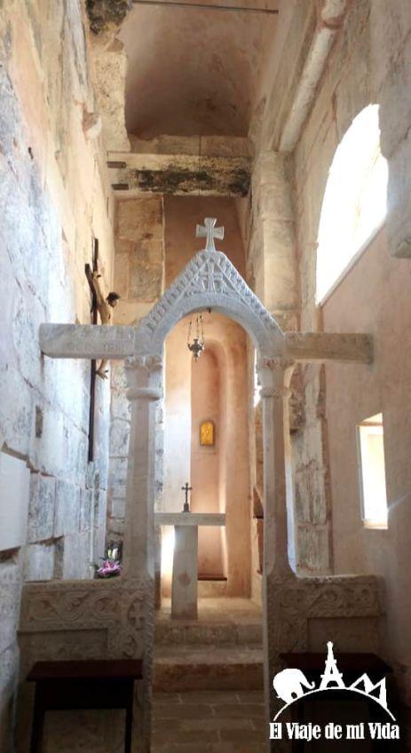 La iglesia más antigua de Split