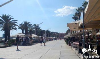 El puerto náutico de Split