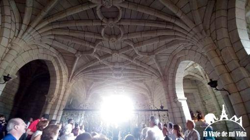 Techo de la Iglesia del Monasteiro de Oseira