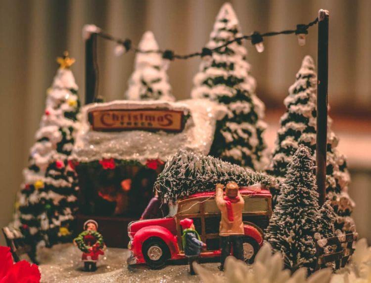 Viajar solo en Navidad