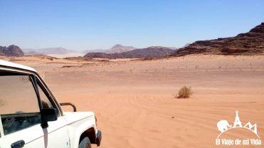 Los jeeps de Wadi Rum
