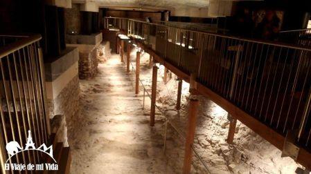 La antigua cripta de la catedral de Vitoria