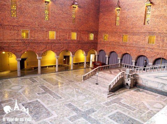 Salón del banquete de los Nobel