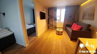 Habitaciones familiares (4 camas)