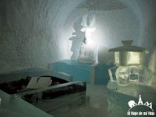 Habitaciones frías del Ice Hotel