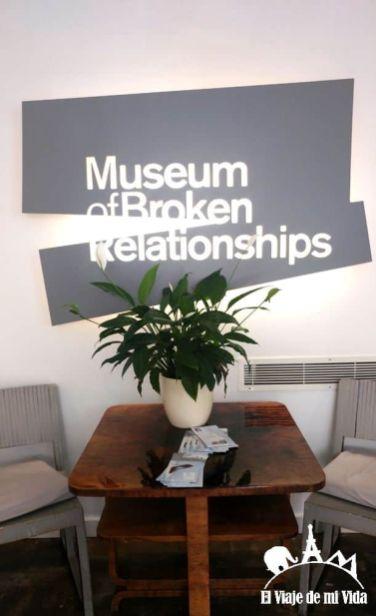 Museo de las Relaciones Rotas de Zagreb