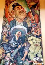 Murales de Diego Rivera en el Palacio de Bellas Artes