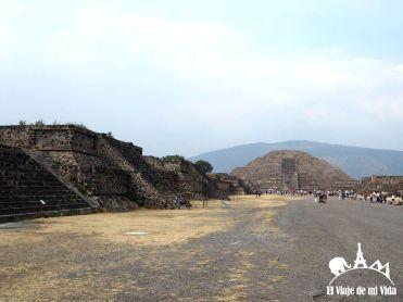 Las avenidas de Teotihuacán