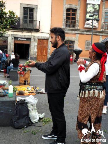 Rituales en el Zócalo