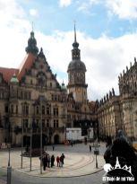 La ciudad vieja de Dresde