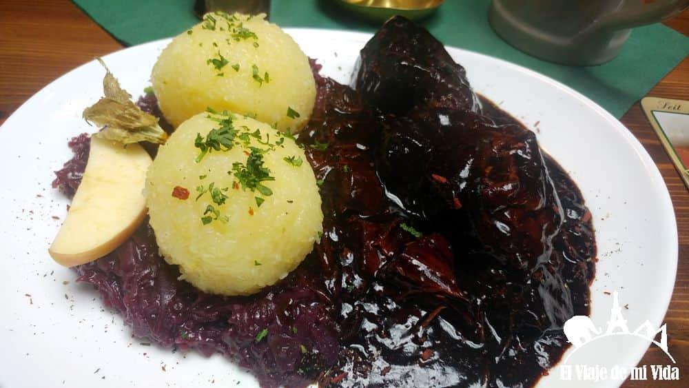La comida casera del Brauhaus