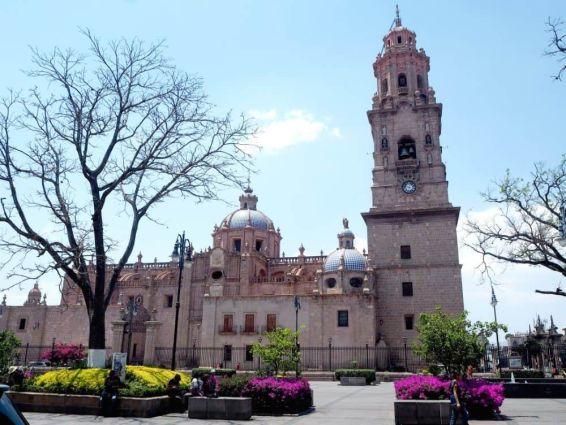 Catedral de Morelia de día