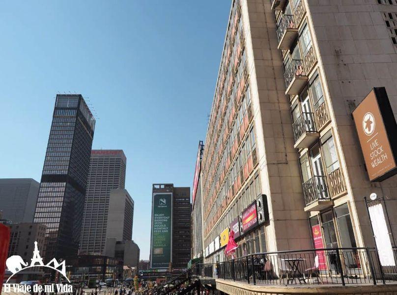 Distrito financiero de Johannesburgo