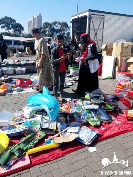 El mercado de Ciudad del Cabo