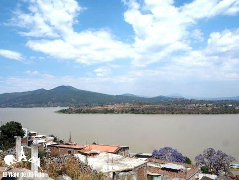 Vistas al Lago Páztcuaro desde Janitzio