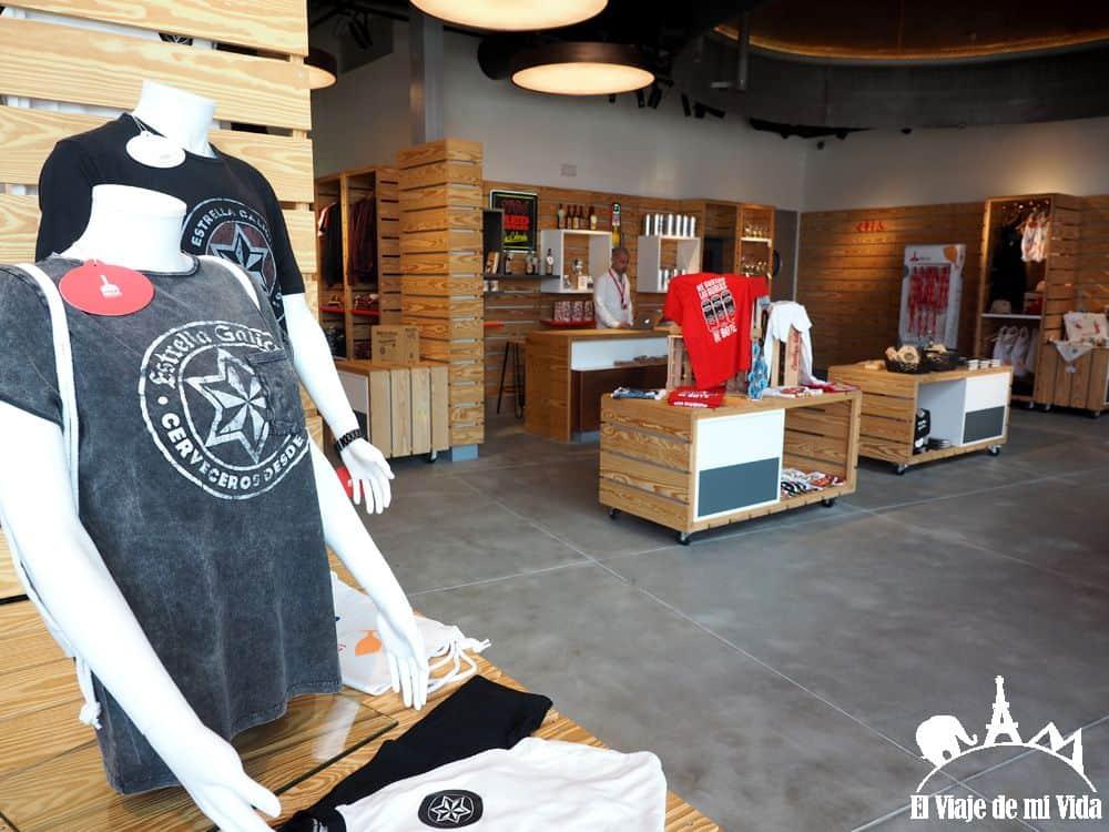 Tienda para los fans de Estrella Galicia