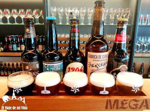 Cata de cervezas Estrella Galicia