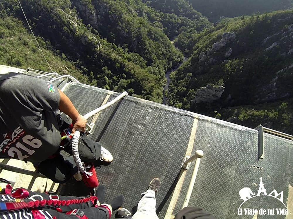 El puente más alto de Sudáfrica para hacer puenting