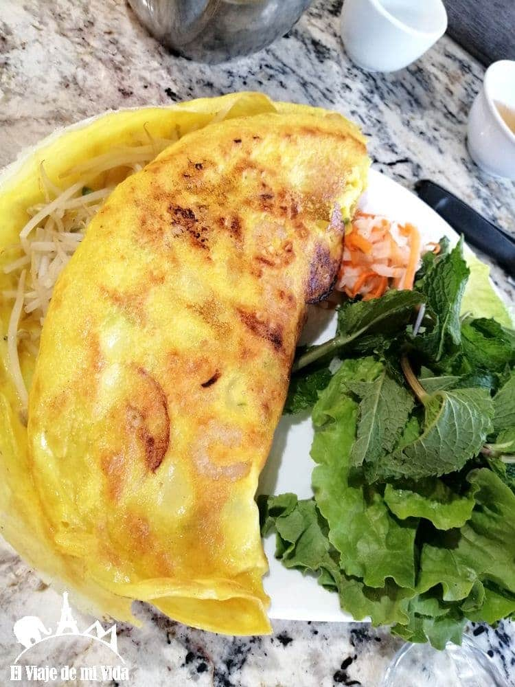 Comida vietnamita: 12 euros