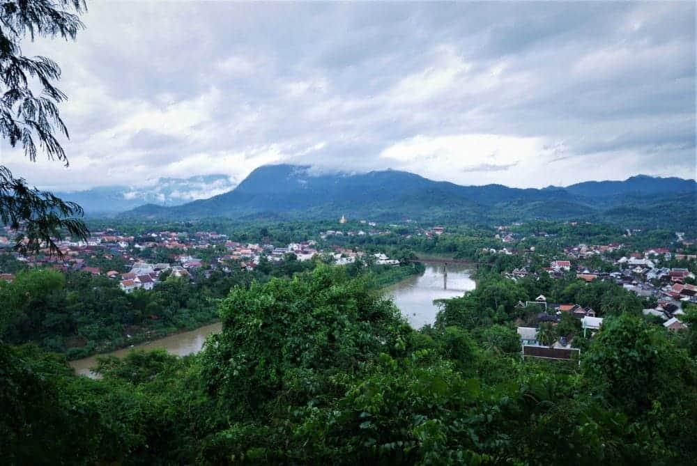 Colina Phou Si en Luan Prabang, Laos (Foto: Crónicas de una Cosmopolilla)