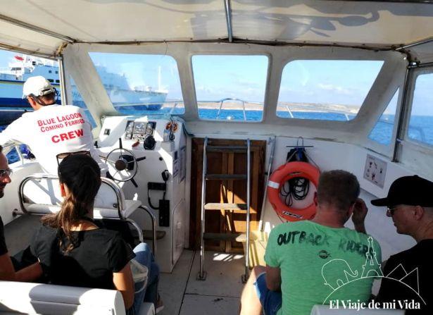 Ferry Malta-Comino