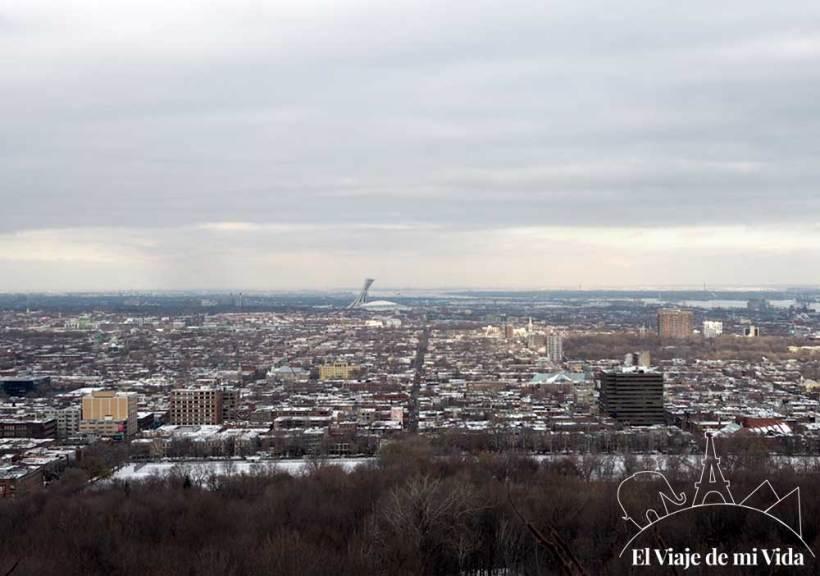 Vistas a Montreal desde Mont-Royal