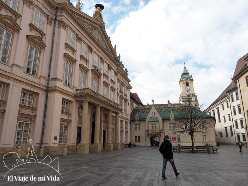 Ayuntamiento antiguo de Bratislava