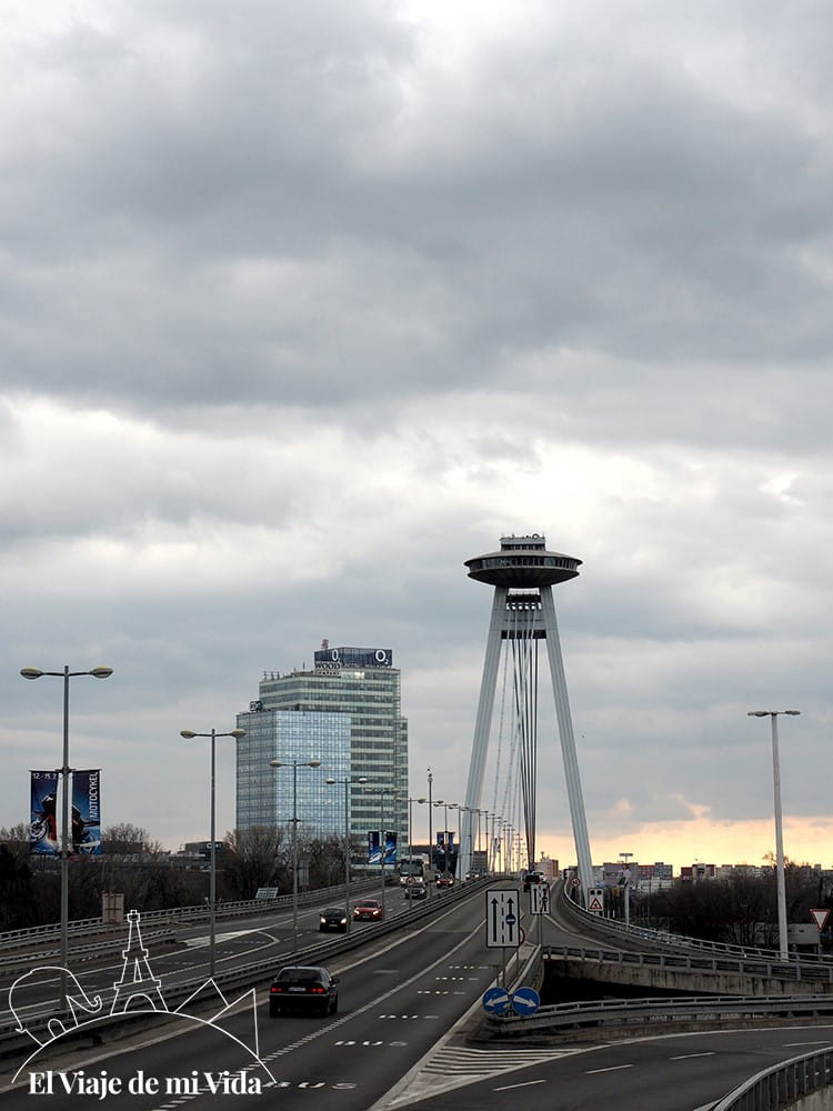 Mirador UFO en Bratislava