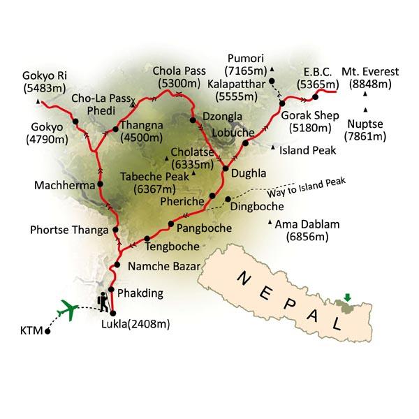 0- Mapa Trekking