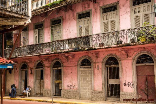03 Viajefilos en Panama, Casco antiguo 01