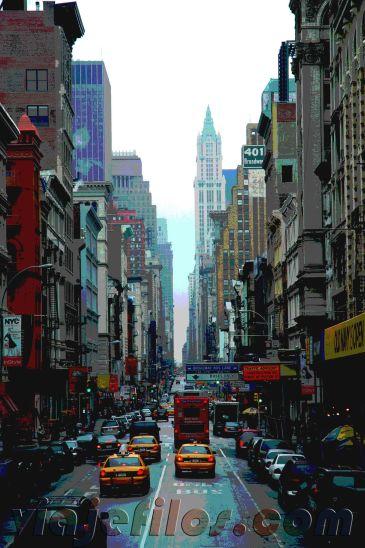 Calle neoyorkina