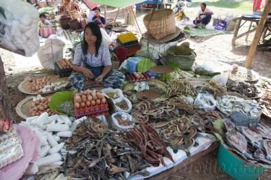 Lago Inle, Mercado de Maing Thauk 08