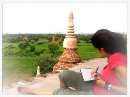 Relax en Bagan