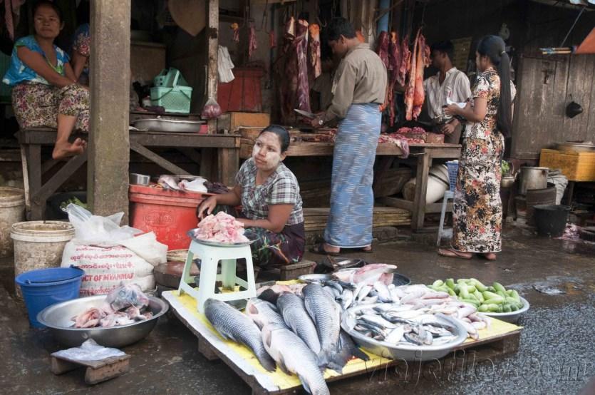 Yangón, mercados de la ciudad 12