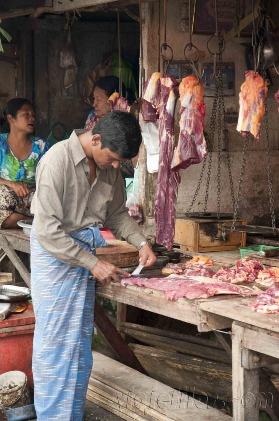Yangón, mercados de la ciudad 14