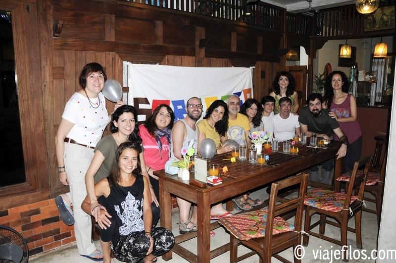 Como celebrar una fiesta de cumpleaños en Chiang Mai