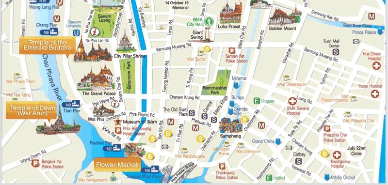 Mapa-turistico-Bangkok
