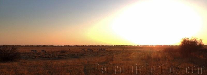Atardecer en Surafrica. Un viaje por libre a Surafrica