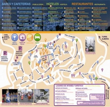 Mapa Mojacar Pueblo