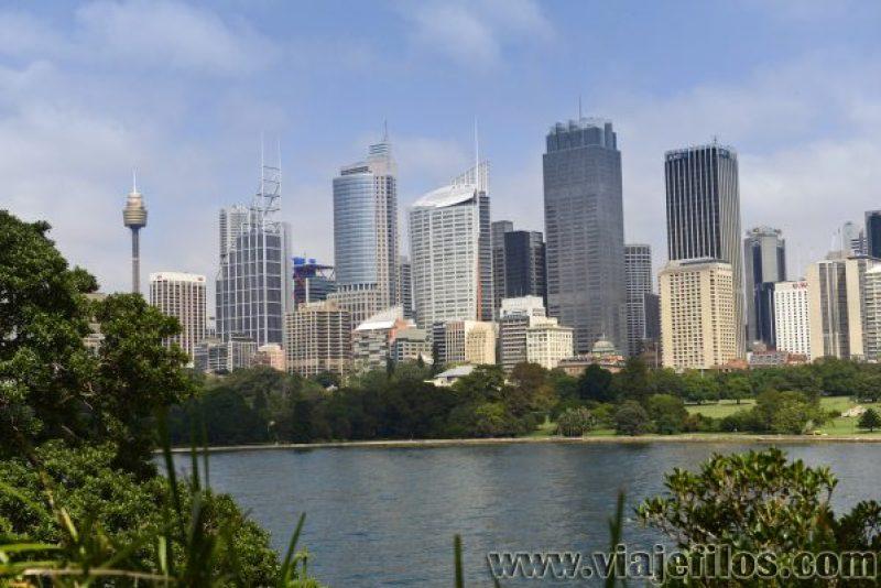 Skyline de Sydney, la escala perfecta para nuestro recorrido en caravana por Australia