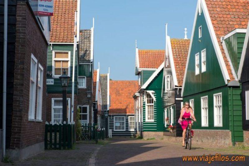 Marken, uno de los pueblos más fotogénicos en los alrededores de Amsterdam